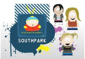 södra parkvektorer