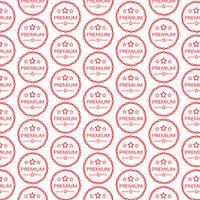 Muster Hintergrund Vintage Premium Label-Symbol