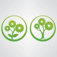 Hållbarhetsvektorns tecken