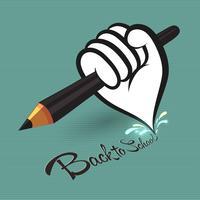 penna i handen
