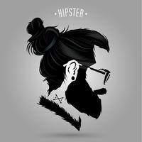 Hipster Indie-Zeichen
