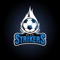 Stürmer-Sport-Logo vektor