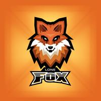 Fox Head logo vektor