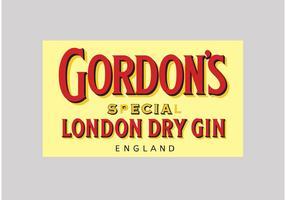 Gordons Gin vektor