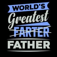 Världens större fader vektor