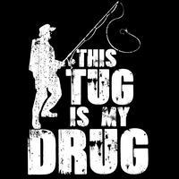 Dieser Schlepper ist meine Droge vektor