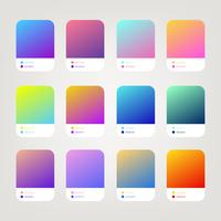 Website oder ui ux Gradient Vector Pack