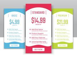 Preispläne für Websites und Anwendungen