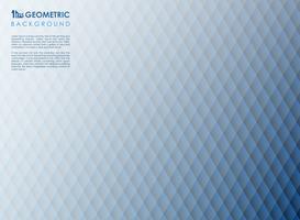 Abstrakte quadratische Streifenlinie blauer geometrischer Hintergrund, vektor