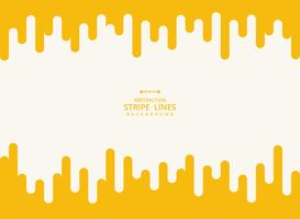 Abstrakter moderner Hintergrund der gelben Streifenlinie geometrisches Muster.