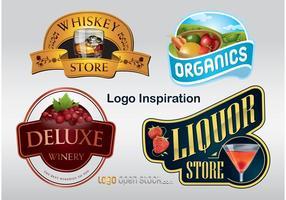 Inspirierende Vektor-Logo-Grafiken vektor