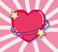 Liebes- und Herzkarikaturen vektor