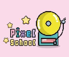 Pixel Schule Kunst