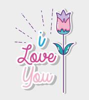 Jag älskar dig kort