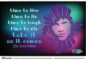 Jim Morrison-Vektor vektor