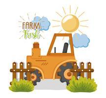 Bauernhof frische Cartoons