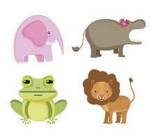 Sats av vilda djur