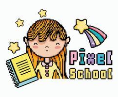Pixel skolkonst