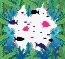 Papperskonst undervatten