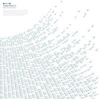 Zusammenfassung des blauen Dreiecktechnologie-Maschenmusterhintergrundes, vektor
