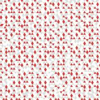 Abstrakter roter weißer grauer Farbdreieckmuster-Dekorationshintergrund. Vektor eps10