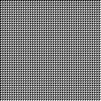 Zusammenfassung des geometrischen Musterhintergrundes des Schwarzweiss-Quadrats.