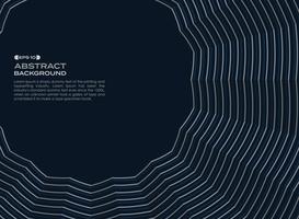 Mörkblå geometrisk zigzag linje av abstrakt bakgrund. vektor