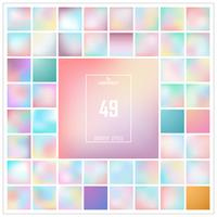 Gesetztes Muster des abstrakten bunten Steigungshintergrundes. Sie können für Farbverlaufsgrafiken verwenden. vektor