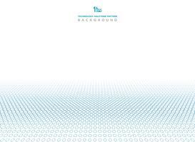 Abstrakt teknologi blå färg på halvtons cirkel mönster bakgrund. vektor