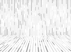Abstrakter Schwarzweiss-Kreis punktiert Musterlinien Dekorationshintergrund. Abbildung Vektor eps10
