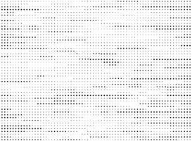Abstrakt modern svart och vitt prickar mönster linje halvtons textur vektor. illustration vektor eps10