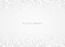 Gelegentlicher Punkthalbton-Designhintergrund des abstrakten grauen Musters. Abbildung Vektor eps10