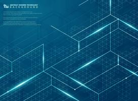 Modern futuristisk av blå struktur linje energimönster design bakgrund. illustration vektor eps10