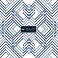 Abstraktes systematisches geometrisches blaues Musterdesign. Sie können für Cover-Design, moderne Grafik, Druck, Anzeige, Bericht verwenden.