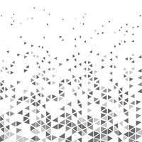 Abstrakt modern triangelmönster gråton hipster design dekoration bakgrund. illustration vektor eps10