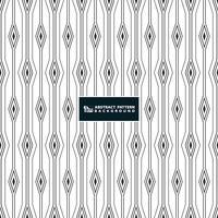 Abstrakte Streifenlinie des quadratischen Diamantmusterhintergrundes auf weißem Hintergrund.
