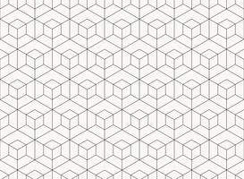 Mönster hexagon design geometrisk svart linje av tech bakgrund. illustration vektor eps10