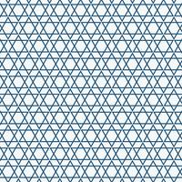 Abstraktes einfaches nahtloses blaues Dreieckmuster.
