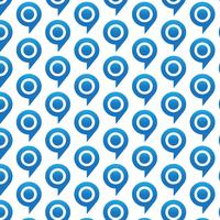 Mönster bakgrundsmålbubbelpictogram