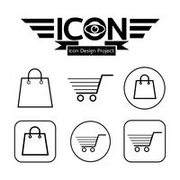 Einkaufswagen-Symbol