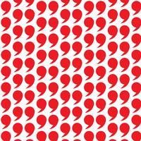 Muster Hintergrund Anführungszeichen Symbol vektor