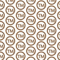Mönsterbakgrund Varumärkes Symbol Ikon
