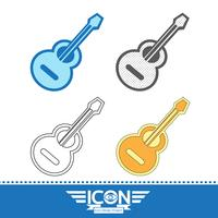 Akustische Gitarre-Symbol