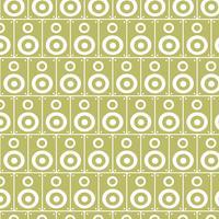 Audio Lautsprecher Muster Hintergrund vektor