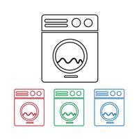 Waschmaschine-Symbol