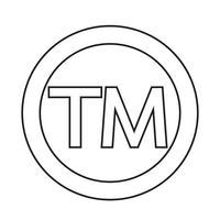 Warenzeichensymbol Symbol vektor