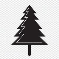 Weihnachtsbaum-Symbol vektor