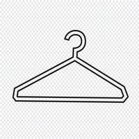 Kleiderbügel-Symbol
