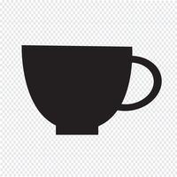 Cup symbol symbol tecken