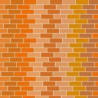 Backsteinmauer Hintergrund vektor